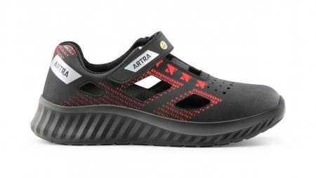 ARSO 701 613060 S1 SRC ESD, Sandale de protectie cu bombeu din otel, talpa SRC, protectie descarcari electrostatice ESD [0]