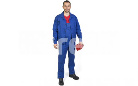 MEX, Costum salopeta cu pieptar din bumbac0