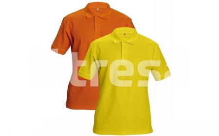 DHANU, Tricou polo din bumbac5