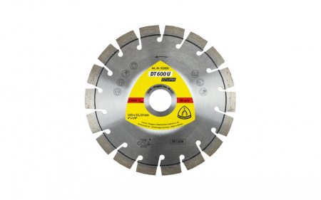 Disc diamantat pt debitare Klingspor DT600U SUPRA0