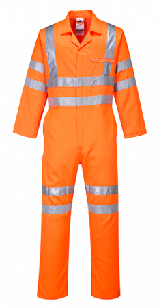Hi-Vis Poly-cotton Coverall RIS1