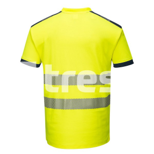 PW3 HIVIS S/S, Tricou din bumbac si poliester3