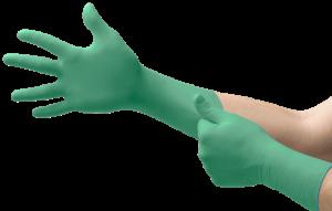MICROFLEX, Manusi de unica folosinta din nitril si neopren (set 50 bucati)0