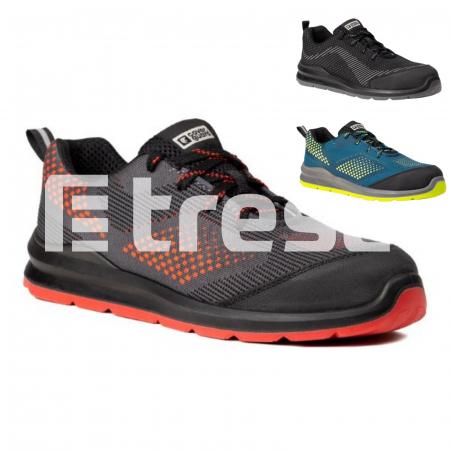 MILERITE S1P, Pantofi de protectie cu bombeu si lamela antiperforatie, Talpa SRC0