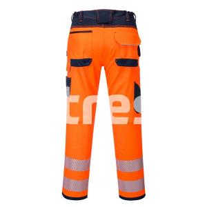 PW340 HI-VIS, Pantaloni de lucru din poliester si bumbac3