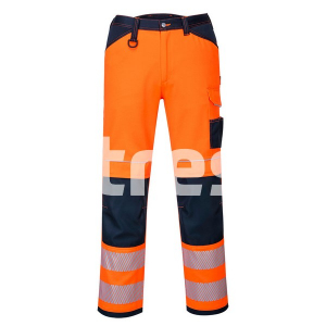 PW340 HI-VIS, Pantaloni de lucru din poliester si bumbac2