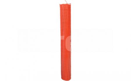 Plasa de avertizare perforata, portocalie 1x50m1