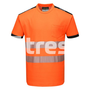 PW3 HIVIS S/S, Tricou din bumbac si poliester [6]
