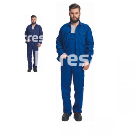 RALF BE-01-005 RALF, Costum salopeta cu pieptar din bumbac [0]