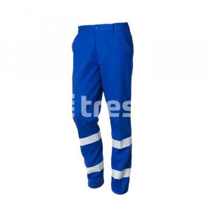 ROAD, Pantalon talie cu benzi reflectorizante din bumbac [2]