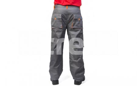 SAMOA, Pantalon standard din bumbac si poliester2