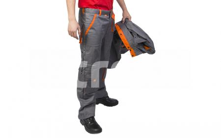 SAMOA, Pantalon standard din bumbac si poliester1