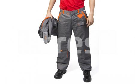 SAMOA, Pantalon standard din bumbac si poliester0