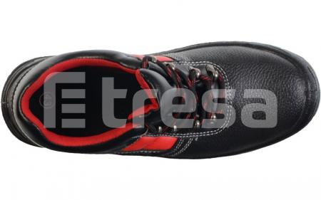 Fridrich S3, pantofi de protectie cu bombeu si lamela, talpa SRC5