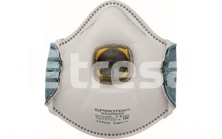 SPIROTEK VS2200AV, semimasca de protectie cu supapa0