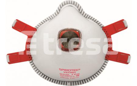 SPIROTEK VS2300V, semimasca de protectie cu supapa0