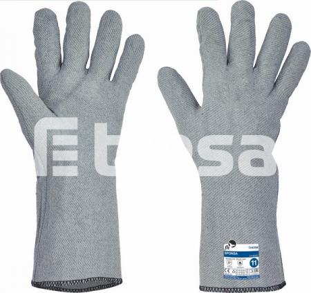 SPONSA, Manusi cusute din tricot special, imersate in nitril1