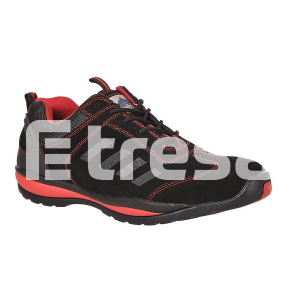 STEELITE LUSUM S1P, Pantof de protectie cu bombeu, lamela antiperforatie, talpa HRO3