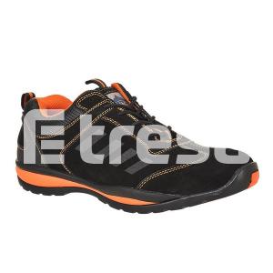 STEELITE LUSUM S1P, Pantof de protectie cu bombeu, lamela antiperforatie, talpa HRO2