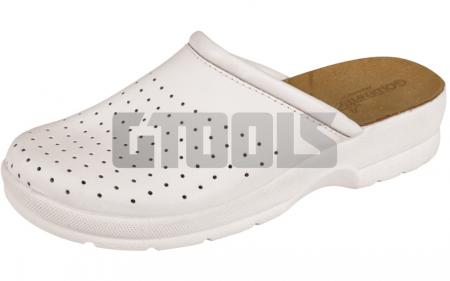 TARUCA LADY, papuci albi1