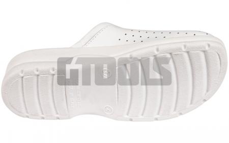 TARUCA LADY, papuci albi2