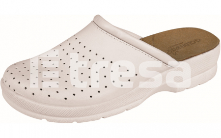 TARUCA LADY, papuci albi0