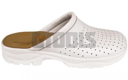 TARUCA MEN, papuci albi2