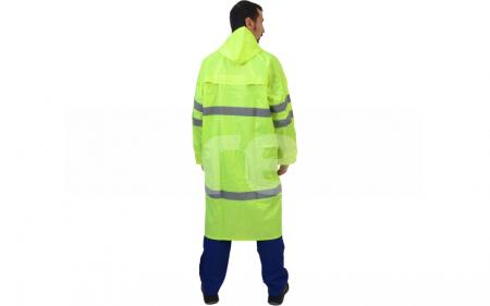 TOBAGO, Scurta de ploaie reflectorizanta din poliester Oxford si membrana PVC2
