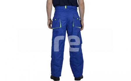 TONGA, Pantalon standard din bumbac si poliester2