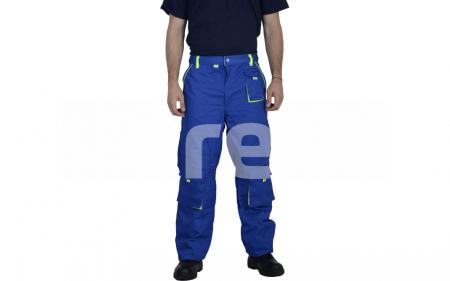 TONGA, Pantalon standard din bumbac si poliester0