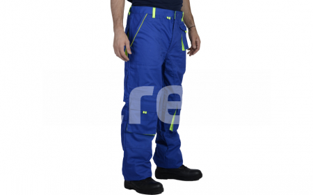 TONGA, Pantalon standard din bumbac si poliester1