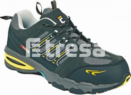 TOOLIK S1P, Pantofi de protectie cu bombeu, lamela antiperforatie, talpa SRA, HRO [1]