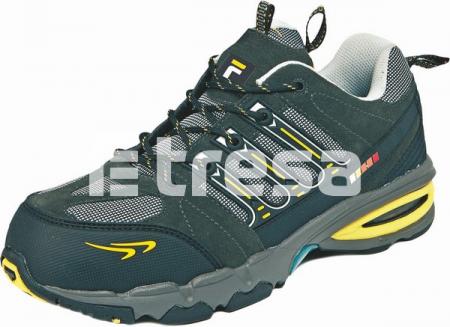TOOLIK S1P, Pantofi de protectie cu bombeu, lamela antiperforatie, talpa SRA, HRO [0]
