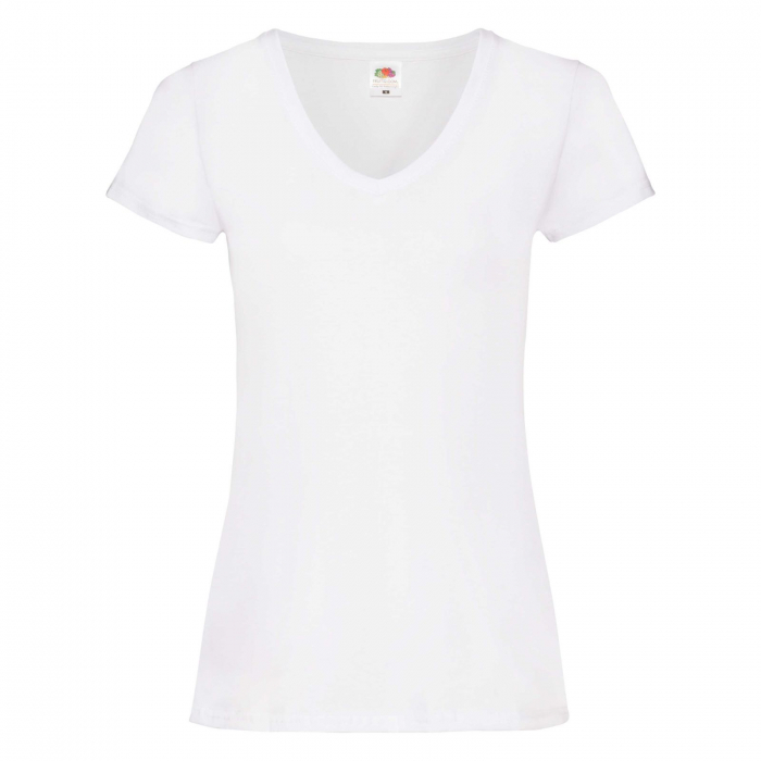 Tricou dama V-neck Valueweight T 0