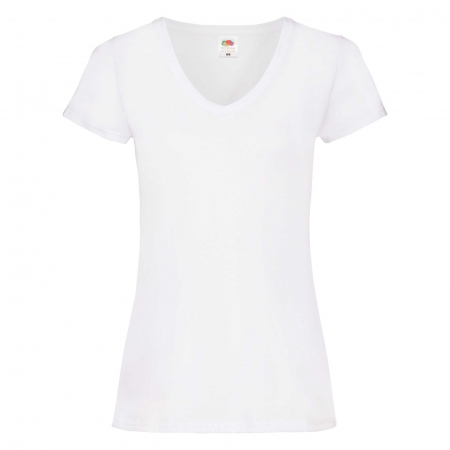 Tricou dama V-neck Valueweight T0