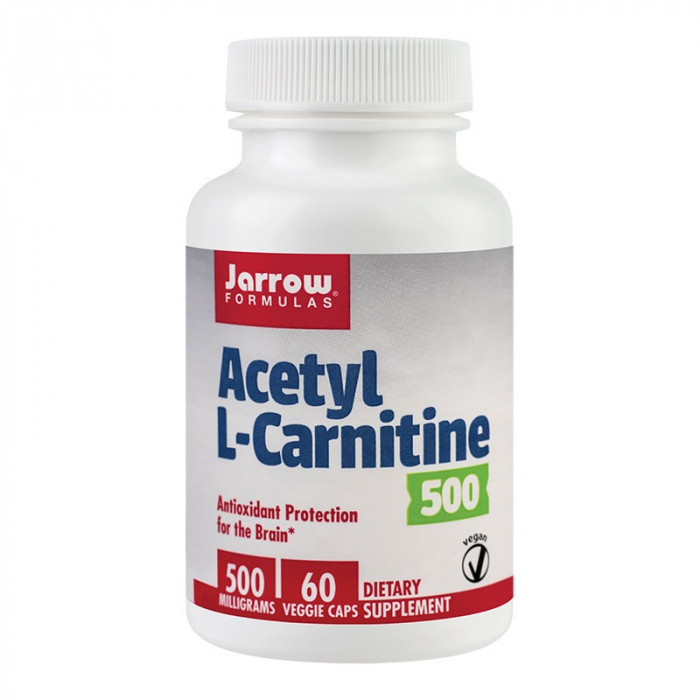 ACETYL L-CARNITINE 500 MG 60 CPS 0