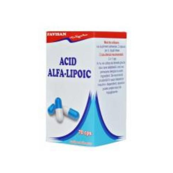 ACID ALFA-LIPOIC 70 CPS 0
