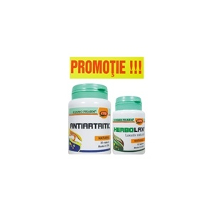 ANTIARTRITIC 30 CPS + HERBOLAX 10 CPS GRATIS [0]
