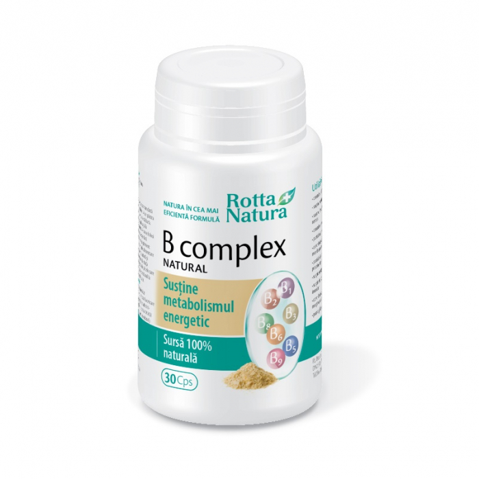 B-COMPLEX NATURAL 30 CPS [0]