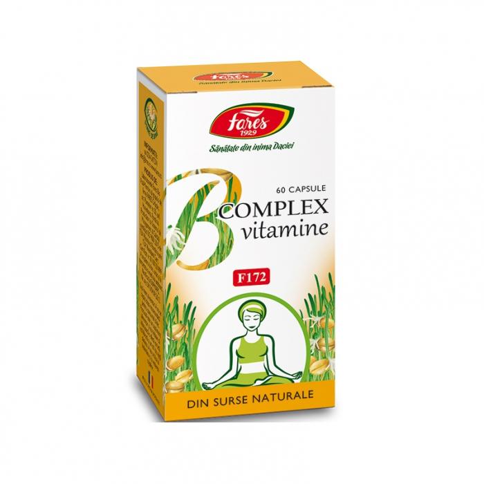 B COMPLEX VITAMINE NATURALE 60 CPS [0]