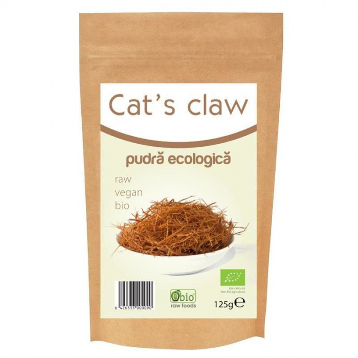 CAT'S CLAW PULBERE RAW BIO 125 G [0]