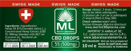 CBD 5% 10 ML [0]