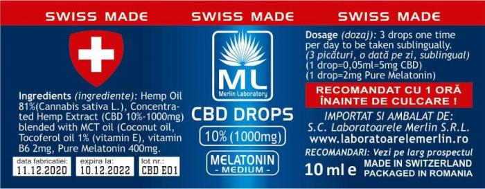 CBD MELATONNIM 10%  10 ML [0]