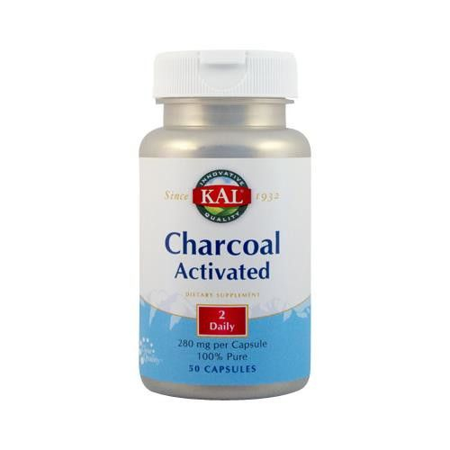 CHARCOAL ACTIVATED 50CPS [0]