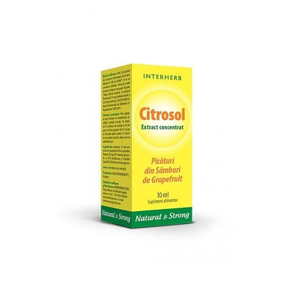 CITROSOL EXTRACT CONCENTRAT 10 ML [0]