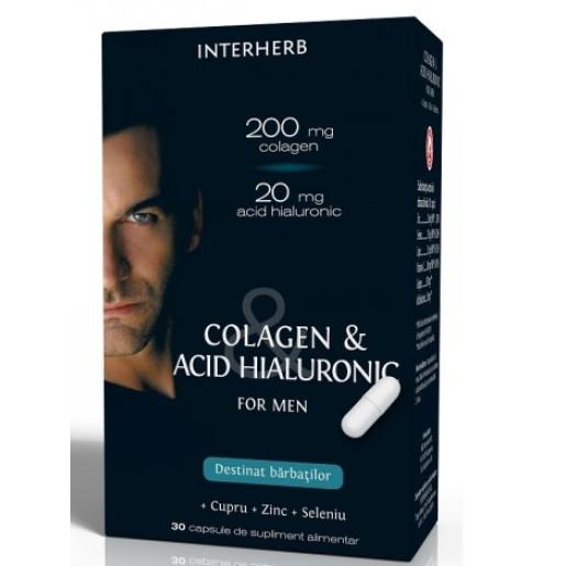 COLAGEN&ACID HIALURONIC PENTRU BARBATI 30 CPS [0]