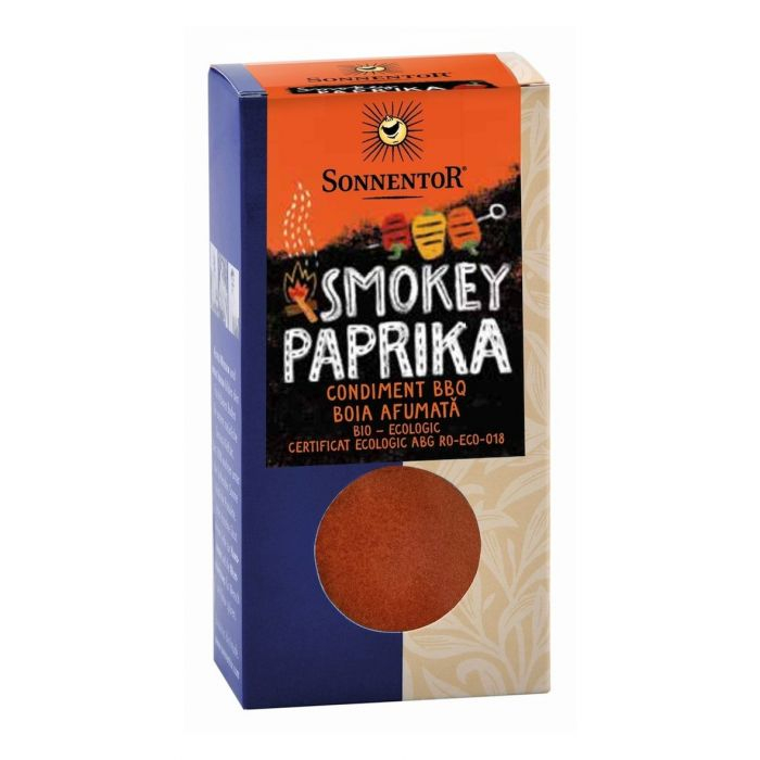 CONDIMENT - AMESTEC LA BBQ!-SMOKEY PAPRIKA (BOIA AFUMATA) ECO 70 G SONNENTOR [0]
