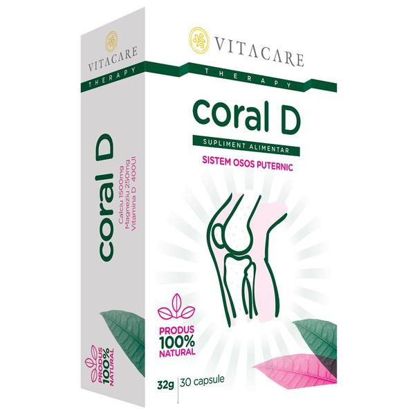 CORAL+VITAMINA D 30 CPS [0]