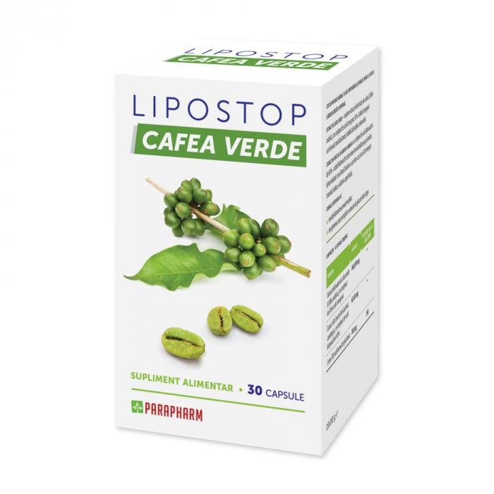 LIPOSTOP CAFEA VERDE 30 CPS [0]