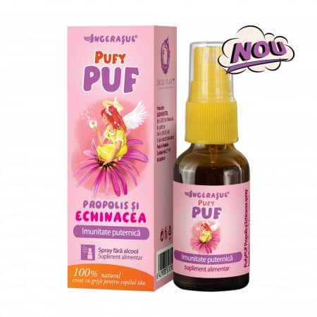 PUFY PUF PROPOLIS&ECHINACEA SPRAY FARA ALCOOL 20 ML 0